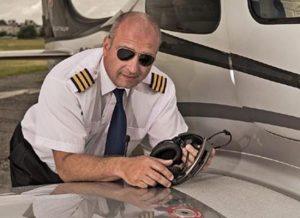 Aerotaxi pilot Petr